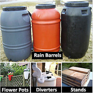 Rain barrels for sale $60 in Minden