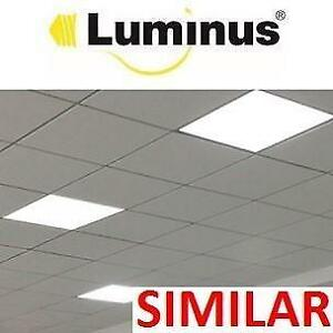 NEW LUMINUS 2'x2' LED PANEL LIGHT PPLP22 187802255 SUSPENDED CEILING RECESSED MOUNT 3800 LUMENS COOL WHITE