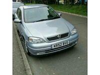 Vauxhall astra silver 1.6 petrol