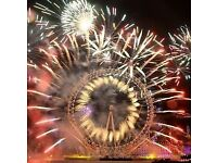 NYE London Fireworks 2017/2018 - White Area - Best viewing area for the NYE Fireworks Show