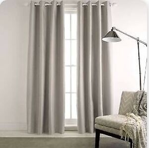 Blockout eyelet curtains