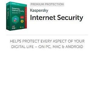 Kaspersky Internet Security anti-virus 2018 pour 3 PC (Laptop)