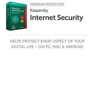 Kaspersky Internet Security anti-virus 2018 pour 3 PC (Laptop)