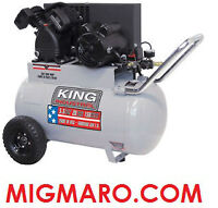 KING INDUSTRIAL KC-2051H1 COMPRESSEUR 5.5HP 20 GALLONS NEUF/NEW!