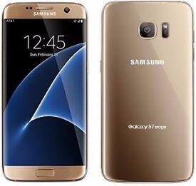 Samsung S7 Edge Gold Platinum + free Samsung Gear VR