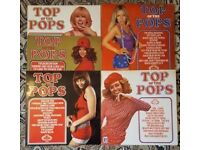 TOP OF THE POPS Vinyl Includes volumes 1,3, 4