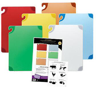 Cutting Board Combo Kit (San Jamar Saf-T-Grip Cutting Board Combo Kit - CBG1218KC )