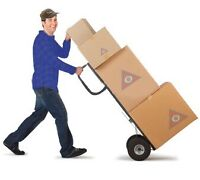 Besoin demenageur. Looking for movers and driver