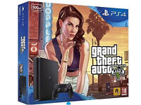 PS4 Slim 500GB With GTA 5 And Fifa 17 Console BRAND NEW IN BOX