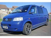 VW transporter T5 LWB campervan140BHP 1.9