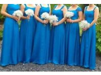Bridesmaid and prom long dresses- Belsioe designer. Beautiful dresses in 6 sizes