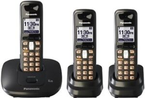 Panasonic Cordless Phones 2 or 3 Handsets in  perfect condition