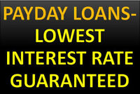 QUICK AND EASY PERSONAL LOAN WITH LOWEST INTEREST RATE !!