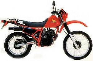 Wanted: Honda XL or other Dual Sport