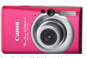 CANON POWERSHOT SD 1200 iS DIGITAL CAMERA MINT CONDITION