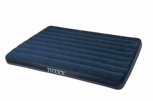 INTEX QUEEN size air mattress and manual pump