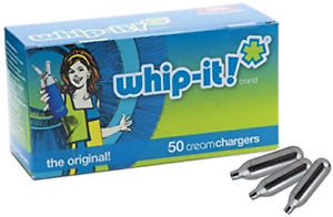 Whip-it Nitrous oxide gas whip cream chargers 50 pack