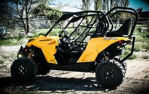BLOW OUT!!!   Can am Maverick rear seat and roll cage