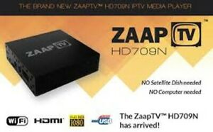 ZaapTV™ HD709N TV  Arabic IPTV Box with 2 years service included