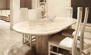 Marble Pedestal Dining Table - immaculate condition Narre Warren South Casey Area Preview