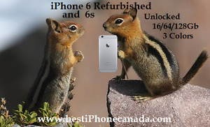 iPhone 6 and 6s - Unlocked - 3 colors -Like New