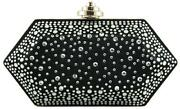 Black Evening Bag Diamonte