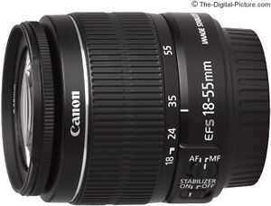 Canon 18-55 EF-S Image Stabilization Zoom lens version II