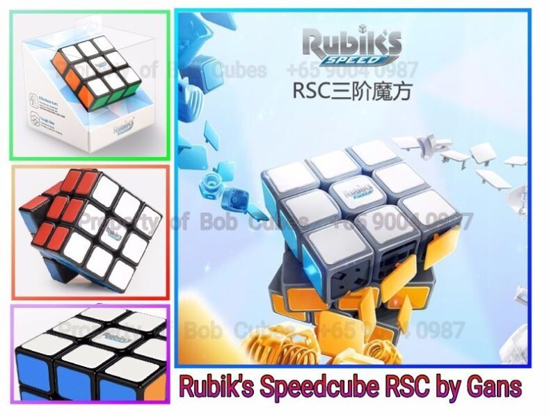 = = Rubik's Speedcube RSC 3x3 by Gans for sale =
