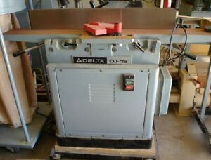 "DELTA DJ-15 Jointer 6""  - ""Made in the USA"""