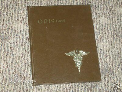 ORIS 1969 Case Western University  Dentistry yearbook