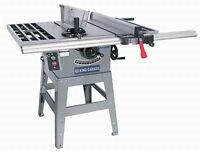 "King Canada 10"" contractor table saw"