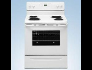 Frigidaire White Self Cleaning Stove