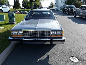 auto antique 1984 ford ltd crown victoria