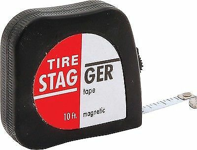 Allstar Performance ALL10111 Tire Tape Measures Economy Stagger Diameter 10 Ft.