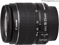canon 18-55mm lens with stablazier