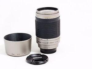 Nikon 70-300G lens