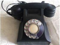 Vintage Telephone- Original GPO bakelite telephone in working order