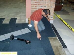 Carpet tile Installation