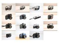   BUYING   Vintage Film Cameras   35mm   4x5   6x6  