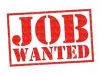Massage job wanted