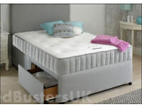 MEMORY FOAM BED SET - 4FT6 DOUBLE BED