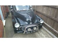 Morris Minor Pick Up, Fiat twin cam Customised / Modified truck, classic car.