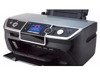 Epson Stylus Photo Inkjet Photo Printer/scaner - Colour with bundle of 500 sheets of a4 paper