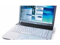 Old Sony Vaio VGN-FS115B Laptop