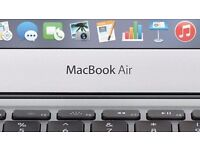 "Apple Macbook Air 13"" Intel Core i5 8 GB 128 GB SSD Intel HD 6000 Apple Warranty SUPERB"