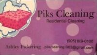 Pik's Cleaning.  Small Commercial Cleaner