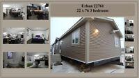 New 22 x 76 Mobile home, Display House