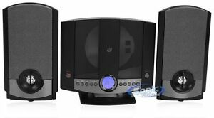 NEW-GPX-HM3817DT-AM-FM-Radio-CD-Player-Stereo-Shelf-System-Speakers-HM3817DTBLK