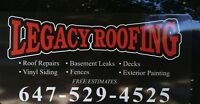 LEGACY ROOFING AND GENERAL CONTRACTING