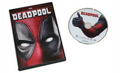 Deadpool Dvd Brand New   Sealed  Free Same Day Shipping  Buy Now
